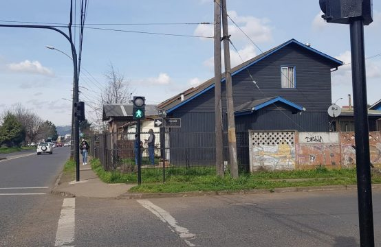 Se Vende Casas Esquina San Martin con Andes, Temuco