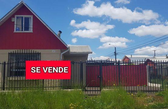Se Vende Casa 3D 1 Sector Fundo del Carmen, Temuco