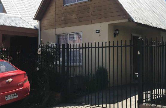 Venta de Casa con 2d en Barrio Las Tranqueras, Temuco