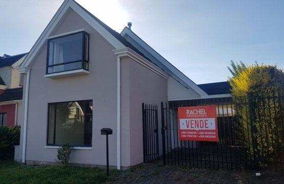 Se Vende Casa 3D 3B en Lomas de Mirasur, Temuco