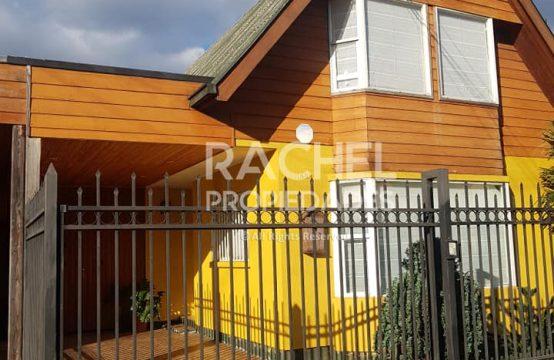 Se Vende Amplia Casa 4D 3B Villa Recabarren, Temuco
