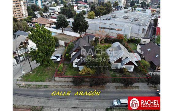 Se vende 2 Casas con Gran Terreno en calle Aragón, Temuco