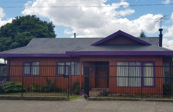 Se vende excelente casa en Pitrufquén en excelente ubicación