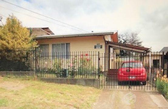 Linda casa en sector Campos Deportivos, Temuco