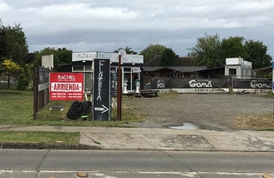 Se arrienda terreno comercial en sector Lomas de Mirasur