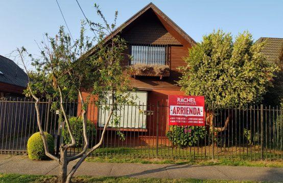 Se arrienda casa en sector Cataluña