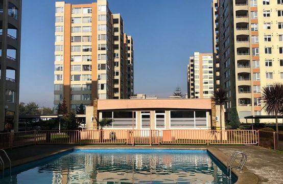 Se Arrienda precioso y soleado dpto en Condominio Los Conquistadores